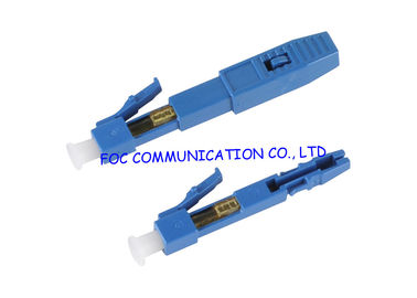 Precision Field Assembly Connector LC Fiber Optic Connector for FTTx