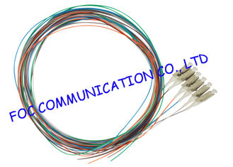 12 Colors Fiber Optic Pigtail multimode LC UPC For ODF and Patch Panel
