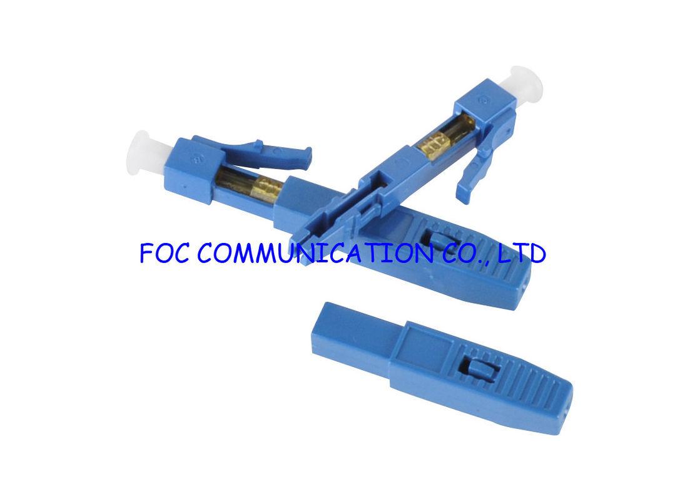 bc97a60818538 Jejua terminação rápida e fácil do alojamento plástico do LC do conector da  fibra ótica do campo da fibra